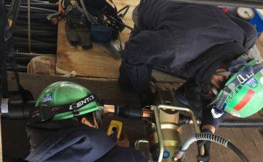 高圧ケーブル敷設工事